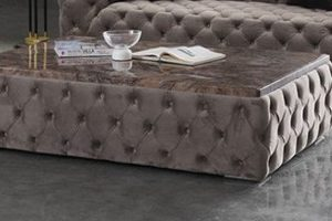 VIVRE COFFEE TABLE DIM 145*95*50 CM