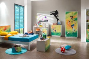 FOOTBALL KIDS BEDROOM