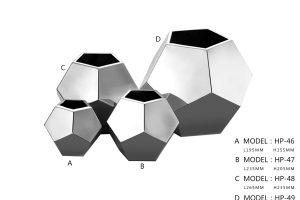 Table Vase (L) HP-48