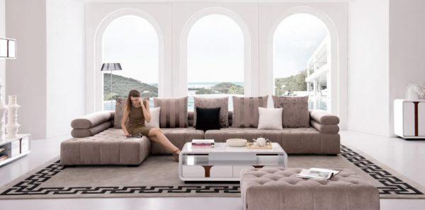 Canapele si coltare din tesut